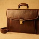 Usnjena Poslovna torba Luca Venturi