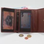 Usnjena denarnica za moške