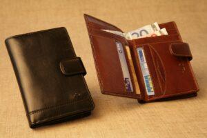 Usnjena zenska denarnica Tonny Perotti